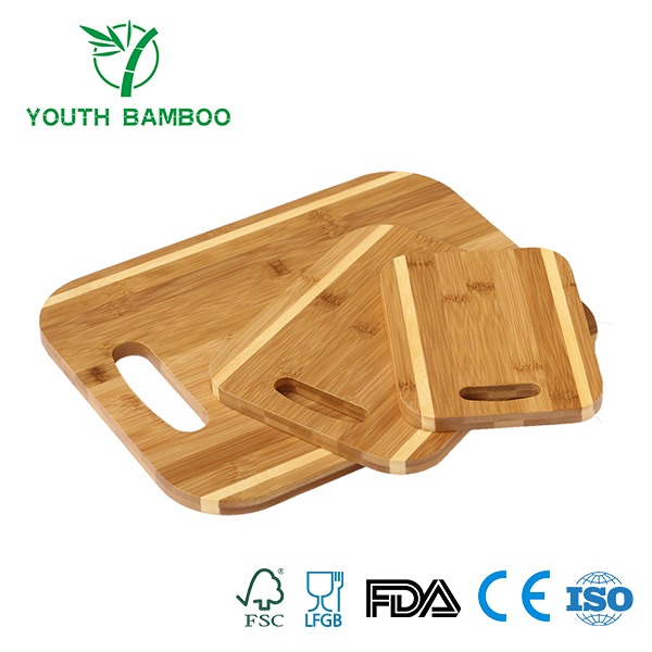 Bamboo Kitchen Cutting Board Set