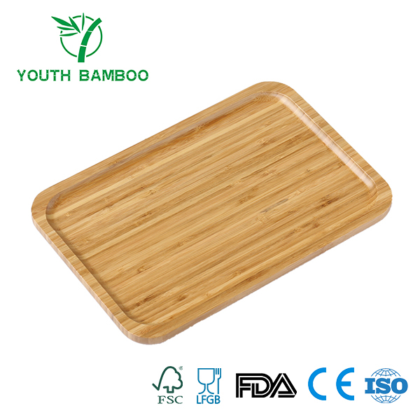 Bamboo Rectangle Serving Tray